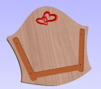 Cradle end modified for solid wood.JPG