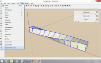 Twisted in SketchUp and Exported
