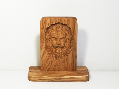 CNC LION HEAD KICK KNACK.jpg