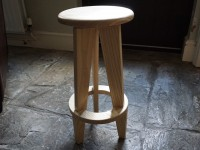 An Ash stool I made for my son.