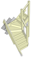 Student Model Winder Stairs