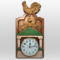 Weathervane Country Clock - Finished