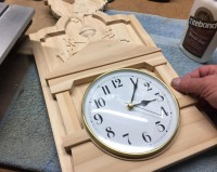 Weathervane Country Clock In Progress